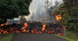 Kilauea Volcanic Eruption, Hawa