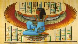The Goddess Isis, wife of Osiris