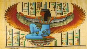The Goddess Isis, wife of Osiris