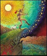 Tomorrow to fresh woods - with The Fool in the Tarot